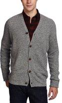 Ben Sherman Men's Plectrum Rib Cardigan Sweater