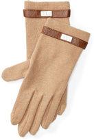 Ralph Lauren Wool-Blend Touch Screen Gloves