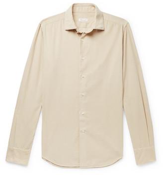 Incotex Fellini Slim-Fit Cotton-Corduroy Shirt