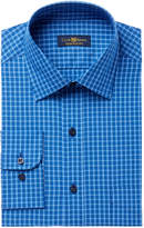Club Room Men's Classic/Regular Fit Small Brodie Plaid Dress Shirt, Created for Macy's