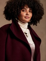Thumbnail for your product : Banana Republic Double-Faced Wrap Coat