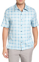 Nat Nast Sea Breeze Silk Blend Camp Shirt