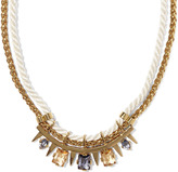 Vince Camuto Rope Stone Necklace