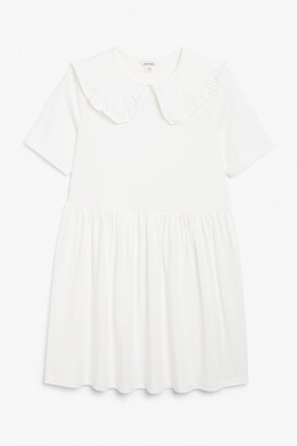 Monki Peter pan collar dress