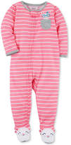 Carter's Striped Mouse Pajamas, Baby Girls