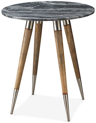 """Jamie Young Owen Side Table - Natural/Gray 24"""""""