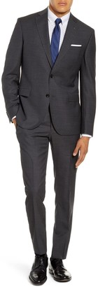 Ted Baker Roger Trim Fit Solid Wool Suit
