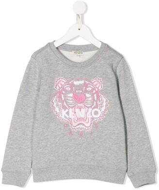 Kenzo Kids Embroidered Sweatshirt