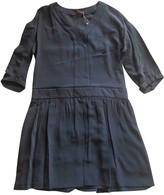 Comptoir des Cotonniers Blue Silk Dress for Women