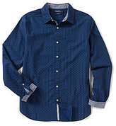 Nautica Classic Fit Long-Sleeve Floral Print Shirt