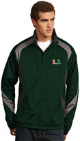 Antigua Men's Miami Hurricanes Tempest Desert Dry Xtra-Lite Performance Jacket