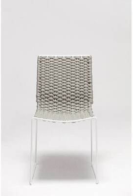 Bronx Baily Stacking Patio Dining Chair Ivy