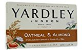 Yardley London Moisturizing Bar Oatmeal & Almond with Natural Oats 4.25 oz (Pack of 2)