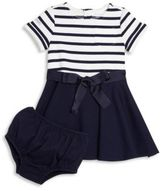 Ralph Lauren Baby's Two-Piece Fit-&-Flare Dress & Bloomers Set