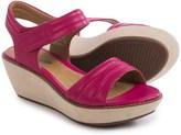 Clarks Hazelle Alba Wedge Sandals - Leather (For Women)