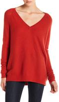 J Brand Bache V-Neck Wool & Cashmere Sweater