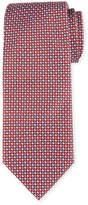 Brioni Alternating Tic Silk Tie