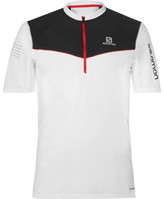 Salomon Fast Wing Advancedskin Activedry Half-zip Top - White