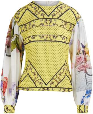 Ganni Printed blouse