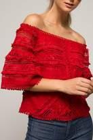 Lucy Paris Rosita Lace Top