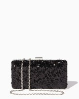 Charming charlie Sequin Scene Clutch