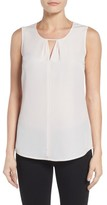 Nic+Zoe Women's Keyhole Top