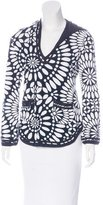 Tory Burch Hooded Floral Top