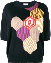 Dries Van Noten Negus intarsia top