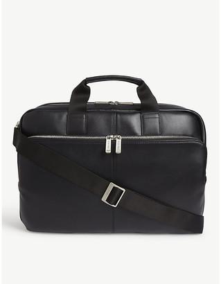 Knomo Amesbury leather briefcase
