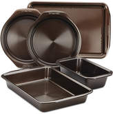 Circulon Symmetry Nonstick Chocolate Brown 5-Pc. Bakeware Set