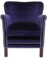 Safavieh Royal Blue Jenny Arm Chair