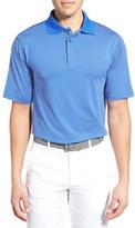 Bobby Jones Men's Xh2O Edge Stripe Stretch Golf Polo