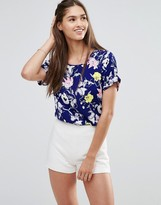 Darling Floral Boxy Top