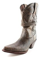 Durango Rd3553 Women Pointed Toe Leather Brown Western Boot.