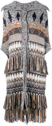 Stella McCartney Chunky Knitted Coat
