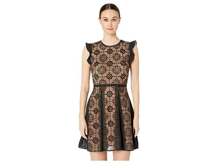42dcc8dcbe2 ML Monique Lhuillier Black Back Zip Dresses - ShopStyle
