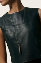 John Hardy Classic Chain Hammered Spear Two-Tone Pendant Necklace