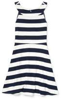 The Children's Place Striped Ponte Dress (Big Girls)