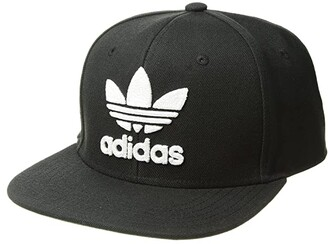 adidas Originals Trefoil Chain Snapback Cap (Black/White) Caps