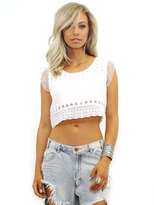 Lovers + Friends Lovers & Friends Maddie Top in Ivory