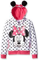 Freeze Minnie Mouse Costume Hoodie (Little Girls)