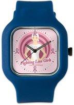 Royal Lion Navy Blue Fashion Sport Watch Fighting Like Girls Cancer Awareness