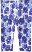Joe Fresh Toddler Girls' Print Legging, Blue (Size 2)