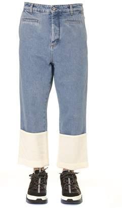 Loewe Fisherman Blue Denim Cotton Stonewashed Jeans