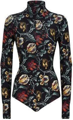 Wolford Jungle Print Bodysuit