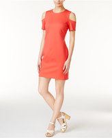 Bar III Cold-Shoulder Sheath Dress, Only at Macy's