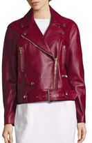 Acne Studios Meryln Leather Moto Jacket