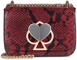 Kate Spade Nicola Python Print Leather Bag