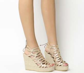 Kanna Berti Sandals Gold