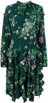 Rochas floral print gathered dress